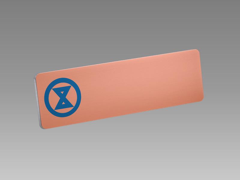 Alu S4 Eloxal|名牌製作、員工名牌、名牌、胸前名牌、胸牌、人名牌訂造、人名牌、職員名牌