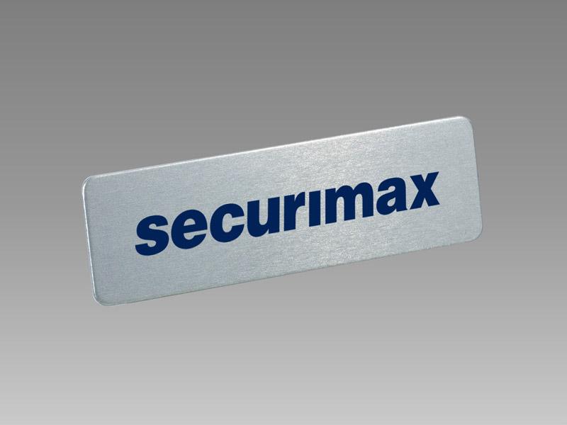Alu S4 magnetic name badge, name badge, 磁石 名牌, 磁石 徽章, unisto名牌, unisto