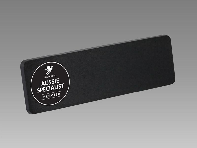 Freestyle Rectangular Chalkboard|magnetic name badge, name badge, 磁石 名牌