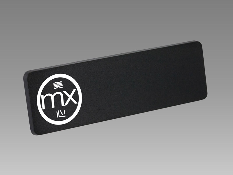 Freestyle Rectangular Chalkboard|磁鐵名牌、磁石名牌、磁吸名牌、姓名牌、名牌、公司名牌