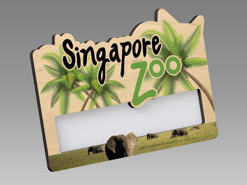 Wood Reusable|木製名牌、木刻名牌、木名牌、名牌